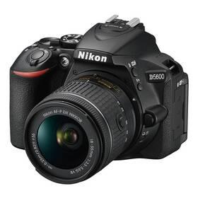 Digitálny fotoaparát Nikon D5600 + 18-55 AF-P VR (VBA500K001) čierny