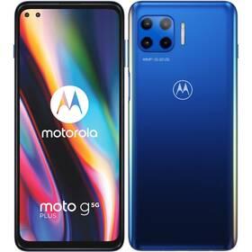 Mobilný telefón Motorola Moto G 5G Plus (PAK90007PL) modrý