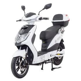 Elektrická motorka RACCEWAY E-FICHTL biela farba