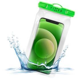 Puzdro na mobil športové FIXED Float, IPX8 (FIXFLT-LM) zelené