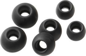 Príslušenstvo Vivanco silikonové pady pro mikrosluchátka, 6ks čierne