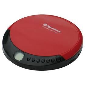 Discman Roadstar PCD-435CD čierny/červený