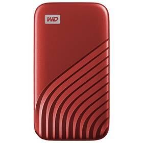 SSD externý Western Digital My Passport SSD 1TB (WDBAGF0010BRD-WESN) červený