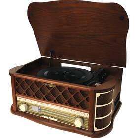 Gramofón Sencor STT 016, RETRO (35037004) drevené