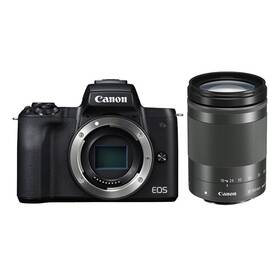 Digitálny fotoaparát Canon EOS M50 + M 18-150 IS STM (2680C042) čierny