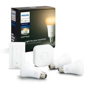 Štartovacia sada Philips Hue Bluetooth 9W, E27, White Ambiance + Switch, Bridge (8718699673345)