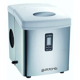 Výrobník ľadu Guzzanti GZ 123 strieborný