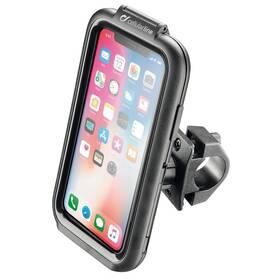 Držiak na mobil Interphone na Apple iPhone X/Xs, úchyt na řídítka, voděodolné pouzdro (SMIPHONEX)