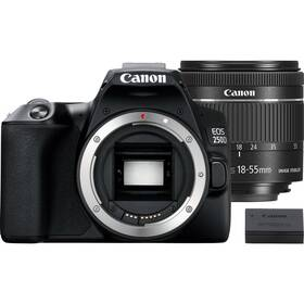 Digitálny fotoaparát Canon EOS 250D + 18-55 IS STM + akumulátor LP-E17 (3454C022) čierny