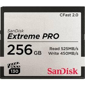 Pamäťová karta Sandisk Extreme Pro CFast 2.0 256 GB (525R/450W) (SDCFSP-256G-G46D)