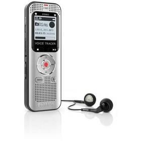 Diktafón Philips DVT2000 (353609) čierny/sivý