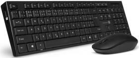 Klávesnica s myšou Connect IT CKM-7500-CS, CZ/SK (CKM-7500-CS) čierna