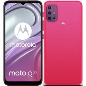 Mobilný telefón Motorola Moto G20 (PANH0010PL) červený