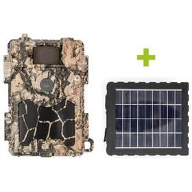 Fotopasca OXE Spider 4G + solární panel zelená/hnedá