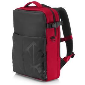 """Batoh na notebook HP OMEN Gaming Backpack pro 17"""" (4YJ80AA#ABB) čierny/červený"""