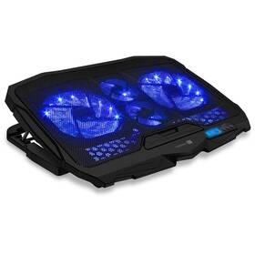 "Chladiaca podložka pre NTB Connect IT FrostWind do 15,6"" (CCP-2200-BK) čierna"