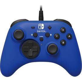 Gamepad HORI Wired Controller HORIPAD pro Nintendo Switch (NSW-155U) modrý