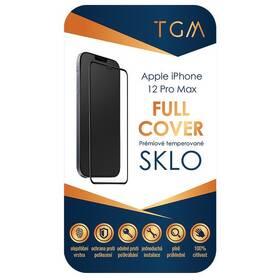 Tvrdené sklo TGM Full Cover na Apple iPhone 12 Pro Max (TGMFCAPIP1267) čierne
