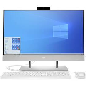 PC all in-one HP 27-dp0001nc (25N61EA#BCM) strieborný