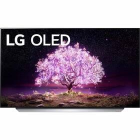 Televízor LG OLED48C12 strieborná/biela