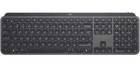 Klávesnica Logitech Wireless MX Keys, US (920-009415) sivá