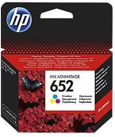 Cartridge HP 652, F6V24AE, 200 stran, CMY (F6V24AE)