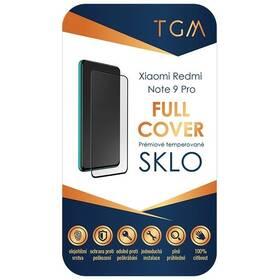 Tvrdené sklo TGM Full Cover na Xiaomi Redmi Note 9 Pro (TGMXIAREDNOT9P) čierne