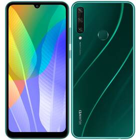 Mobilný telefón Huawei Y6p (HMS) (SP-Y6P64DSGOM) zelený