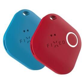 Kľúčenka FIXED Smile PRO, Duo Pack (FIXSM-SMP-BLRD) červená/modrá