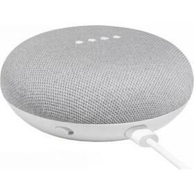 Hlasový asistent Google Home mini Chalk Repack biely