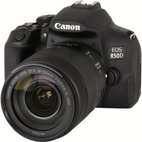 Digitálny fotoaparát Canon EOS 850D + 18-135 IS USM (3925C020) čierny