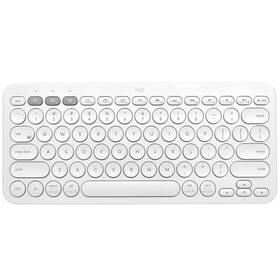 Klávesnica Logitech Bluetooth Keyboard K380, US (920-009868) biela