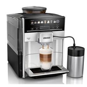 Espresso Siemens EQ.6 plus TE653M11RW strieborné