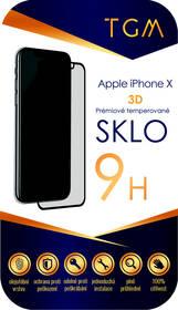 Tvrdené sklo TGM 3D na Apple iPhone X/Xs/11 Pro (TGM3DAPIPXBL) čierne