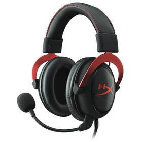 Headset HyperX Cloud II (KHX-HSCP-RD) čierny/červený