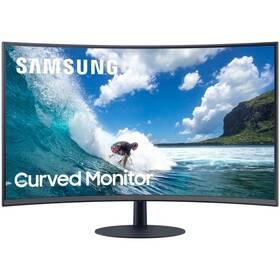 Monitor Samsung T55 (LC24T550FDRXEN) sivý/modrý