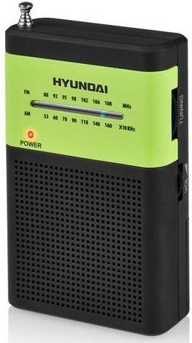 Radiopřijímač Hyundai PPR 310 BG černý/zelený