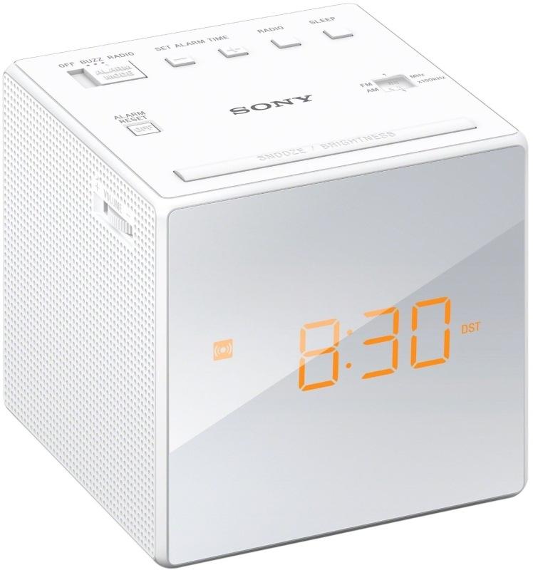 Sony ICF-C1W, biela
