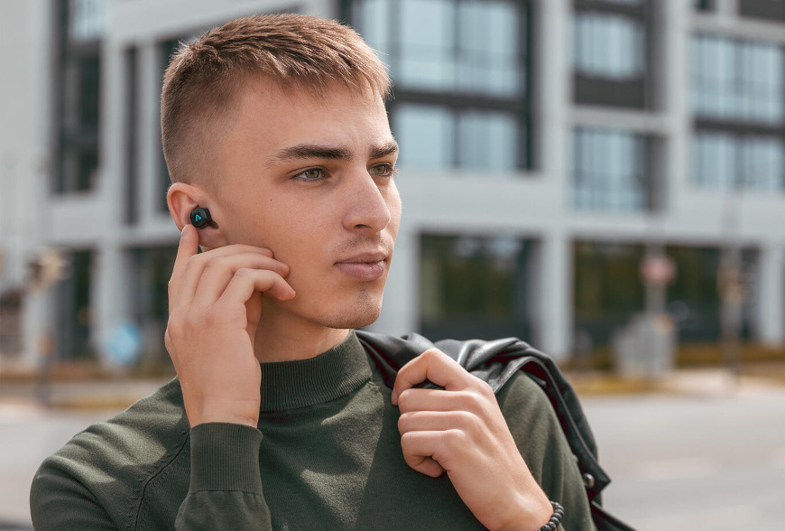 LAMAX Dots2 Touch Wireless Charging, černá