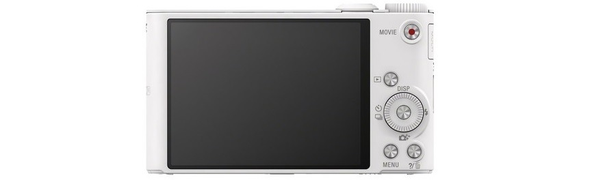 SONY DSC-WX350, bílá