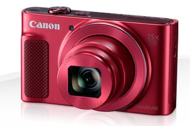 Canon PowerShot SX620, červená