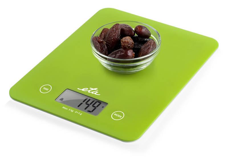 Kuchyňská váha ETA zelená